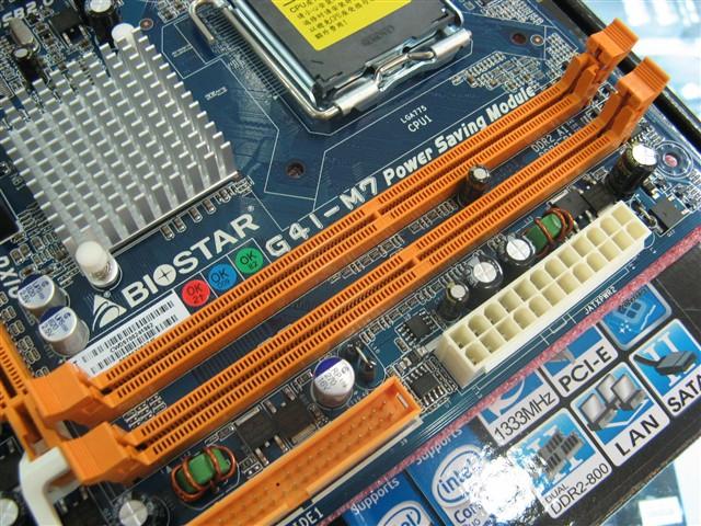 映泰G41 M7主板产品图片12图片
