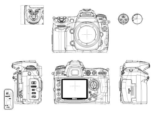 产品设计手绘图相机_产品设计手绘图相机分享展示