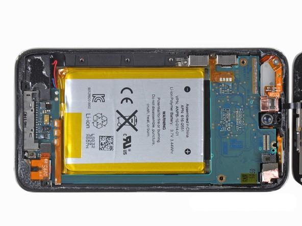 ipod5图片拆机-苹果 iPod touch4 32G