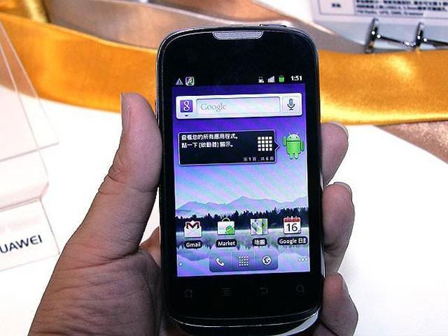 华为U8650 Sonic手机产品图片