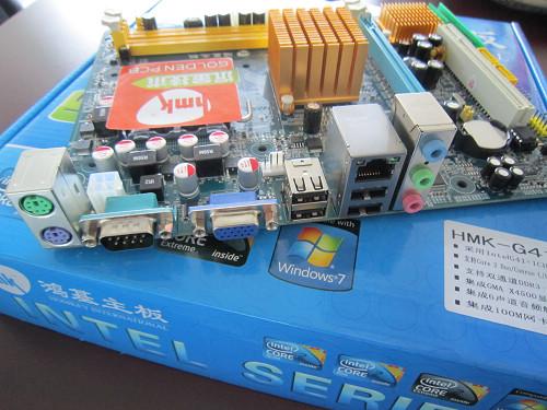 鸿基HMK G41主板产品图片7图片