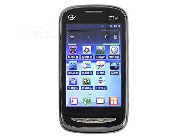 中兴手机n760_中兴N760正面图片-IT168
