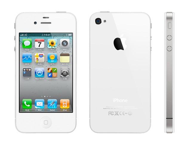 苹果iphone4 8gb 联通版3g手机(白色)全部图片2