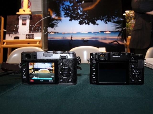 富士x10 数码相机 黑色