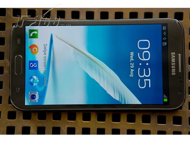 星Note2 N7100 联通版3G手机 云石白 灰色图片3