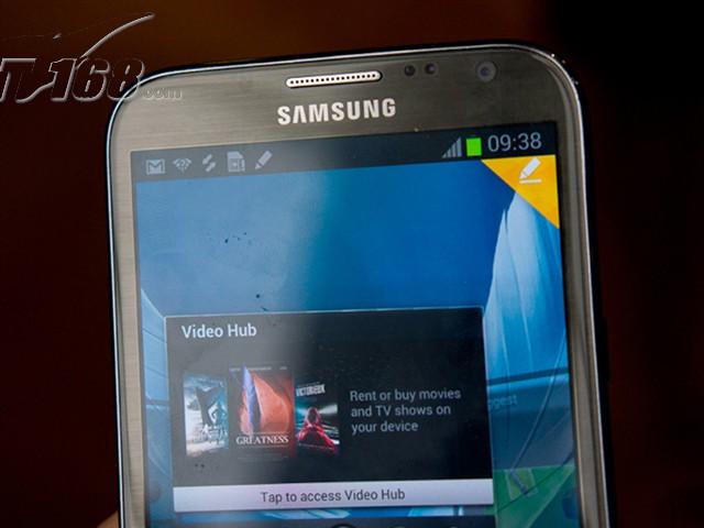 星Note2 N7100 联通版3G手机 云石白 灰色图片4
