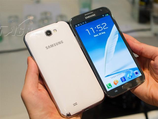三星Note2 N7102 16G联通3G手机 云石白 WCDMA GSM双卡双待双通非合约机手机产品图片4
