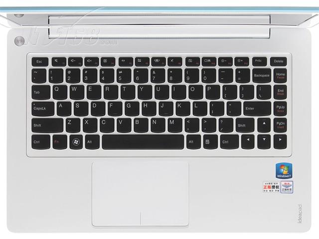联想u310超极本i3_联想U310-ITH(S)冰晶蓝键盘图片-IT168