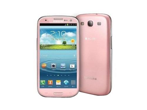 三星galaxy s3 i9300 16g联通3g手机(青玉蓝)wcdma/gsm欧版粉色图片1