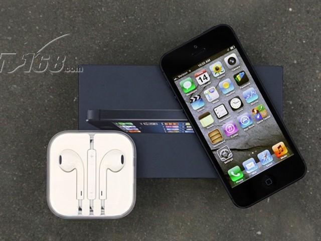 苹果iphone5 16g电信3g手机(黑色)cdma2000/cdma非合约机手机产品图片