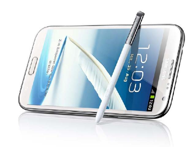 星Note2 N7100 联通版3G手机 云石白 全部图片4