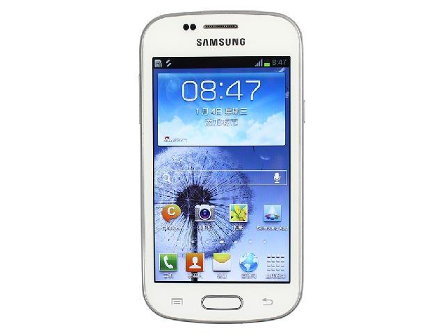 联通3g双模手机_三星S7562i 联通3G手机(纯白)WCDMA/GSM双卡双待单通非合约机外观图片 ...