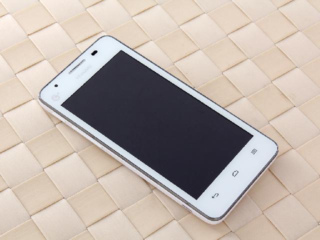 华为G520 3G手机 黑色 TD SCDMA GSM整体外观图图片3