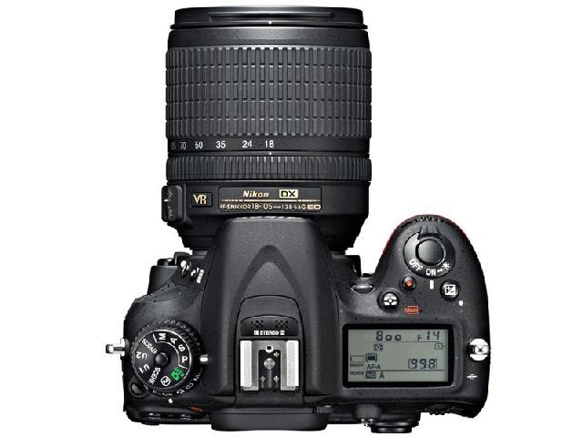 尼康D7100 单反机身(中高级单反 2410万像素 3.2英寸液晶屏 连拍6张/秒)整体外观图图片1