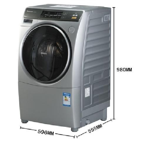 松下洗滚筒衣机结构示意图