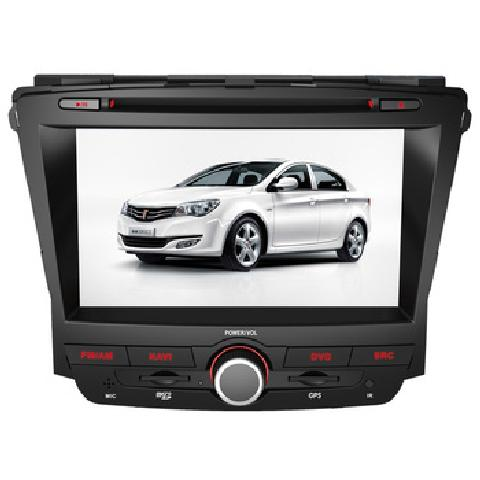 荣威350 7寸专车专用 全屏触摸 原车方控 厂家直发 GPS产品图片1高清图片