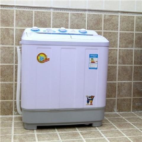 8公斤半自动波轮洗衣机(蓝色)洗衣