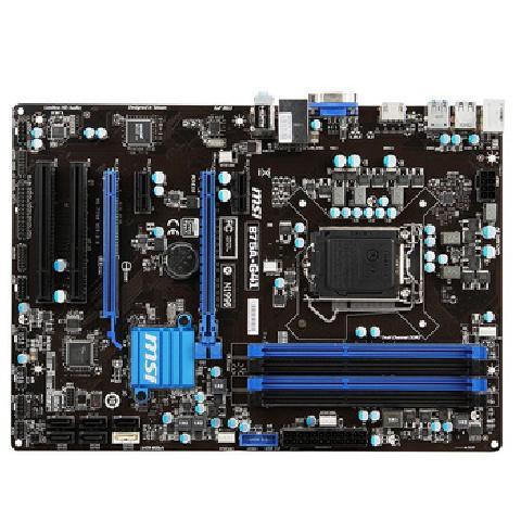 B75A G41主板 Intel B75 LGA 1155 主板产品图片1图片