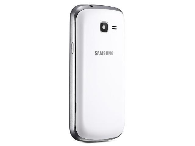 三星S7572 联通3G手机 白色 WCDMA GSM双卡双待双通非合约机外