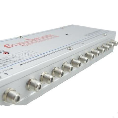 0M12 有线电视信号放大器 一进十二出 30db 家电配件产品图片2图片