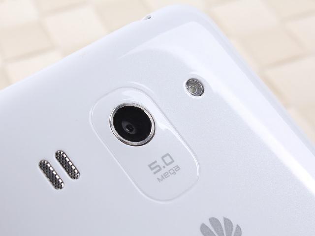 华为G520 移动3G手机 白色 TD SCDMA GSM非合约机主摄像头图片