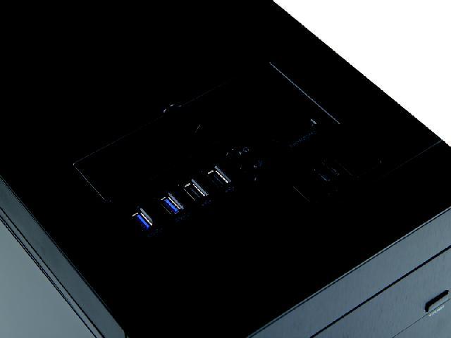 GAMEMAX轻风健侠(黑色)机箱产品图片3( 3 /6)