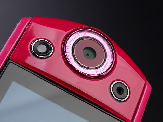 卡西欧TR350 数码相机 红色 1210万像素 3英寸液晶屏 21mm广角 效果