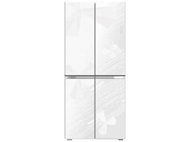 美菱bcd-450ze9b 450升四门冰箱(几何花纹)冰箱产品图片1(1/6)