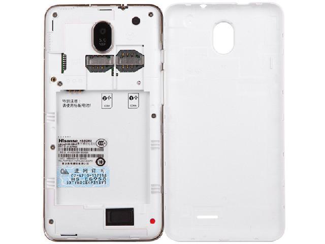海信eg958 电信3g手机(晴雪白)cdma2000/gsm双卡双待单通非合约机手机