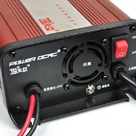 7阶段铅酸电池充电器 汽车电瓶充电器 摩托车智能电瓶充电器 12V充