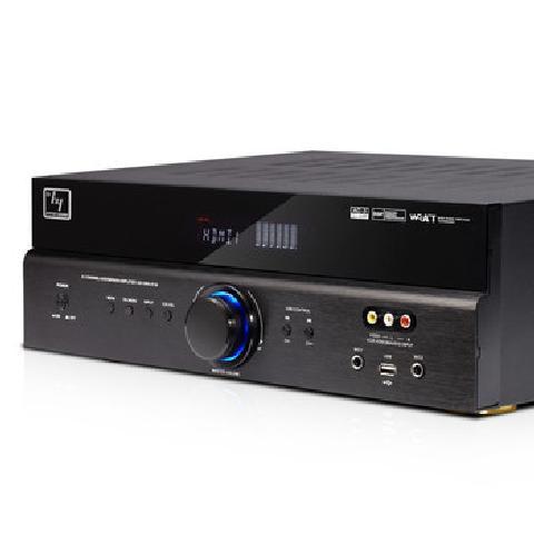 豪韵 6136家庭影院5.1声道家用功放机发烧级HDMI大功率专业数字功