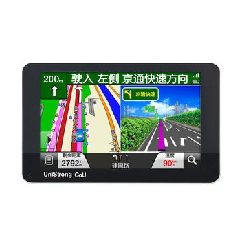 任我游N510 GPS导航仪 声控智能导航 5寸超薄机身 镜面高清屏 一体化智能查询 标配 终身免费升级卡GPS产品图片1