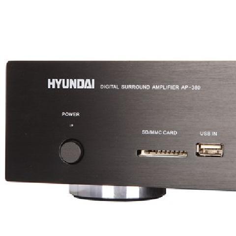 AP 380 家庭影院 家用式音箱 AV功放机 黑色 家庭影院套装产品图片4