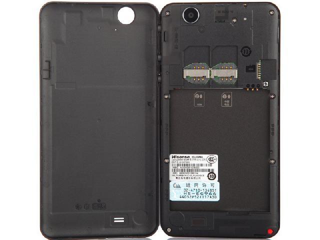 海信eg966 电信3g手机(俊雅黑)cdma2000/gsm双卡双待单通非合约机手机