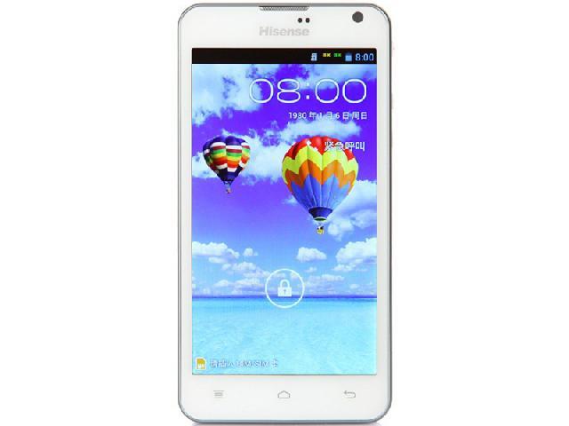 海信eg966 电信3g手机(金钻白)cdma2000/gsm双卡双待单通非合约机手机