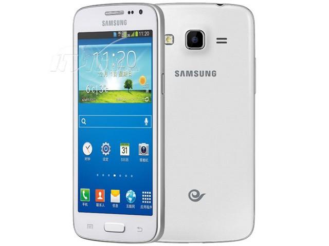 三星G3819D 电信3G手机 白色 CDMA2000 GSM双卡双待单通非合约