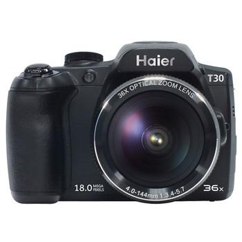 T30 数码相机 黑色 1800万像素 36倍光变长焦机 单反相机产品图片2