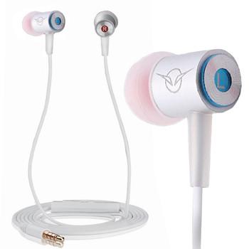 聆动手机耳机入耳式线控立体声带话筒 适用于三星/苹果/华为/htc/魅族