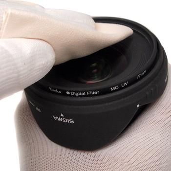 嘉蕊专业镜头布 相机清洁布 可水洗 超级纤维光学擦屏