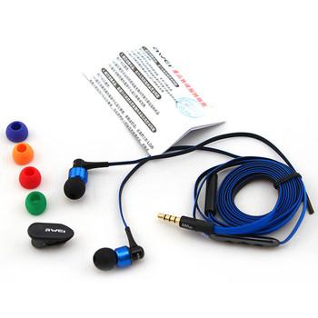 awei-s50vi入耳式智能线控手机耳机音量耳机带麦克风
