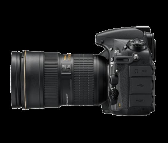 尼康D810 全画幅单反相机(3709万/CMOS/51个对焦点)整体外观图图片9