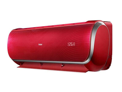 海尔kfr-26gw/11waa22a 1匹壁挂式冷暖空调(红色)空调
