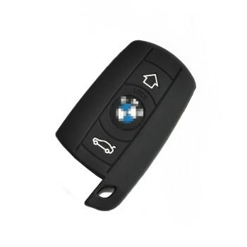 3 X5 X6汽车钥匙套 宝马钥匙包 黑色 3键功能精品产品图片3高清图片
