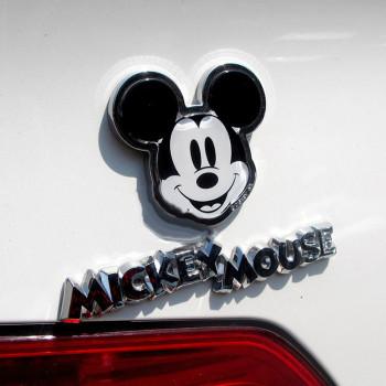 NAPOLEX迪士尼经典米奇头像汽车立体装饰贴 字母贴 卡通装饰油箱盖贴车标贴WD 142功能精品产品图片1