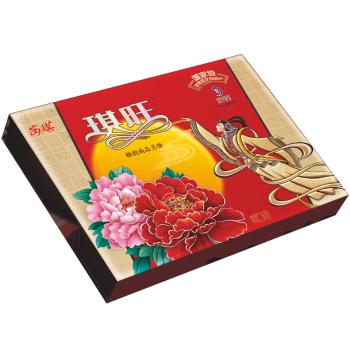 安琪安琪月饼礼盒款送货券全国通用 雅韵尚品月饼470g月饼产品图片1