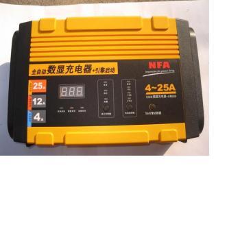 12v全自动数显汽车电瓶充电器