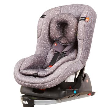 好孩子儿童汽车安全坐椅isofix接口0 4岁宝宝 红条CS308 M215儿童安高清图片