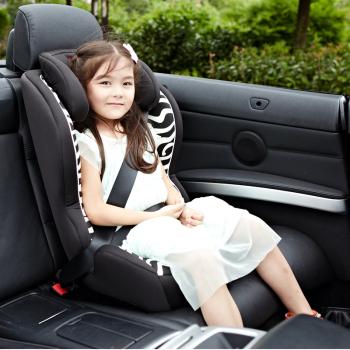 两只老虎汽车儿童安全座椅 适合9个月 12岁 全能虎 斑马儿童安全座椅