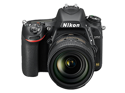尼康D750  全画幅单反相机(2432万/翻转屏/51点AF)单机身整体外观图图片2