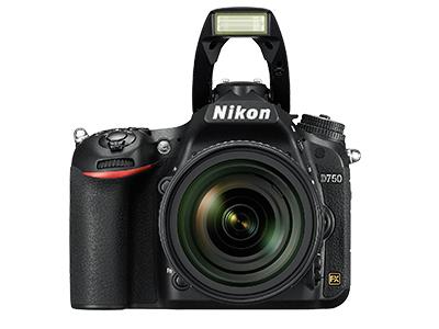 尼康D750  全画幅单反相机(2432万/翻转屏/51点AF)单机身整体外观图图片3